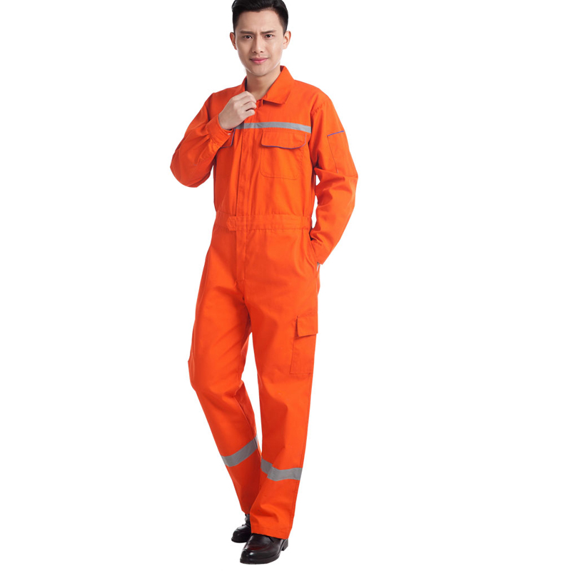 Image 5 - Woman men work overalls working uniforms spring thin section Reflective Coveralls welding car workshop mechanic PlusSize clothes-in Safety Clothing from Security & Protection