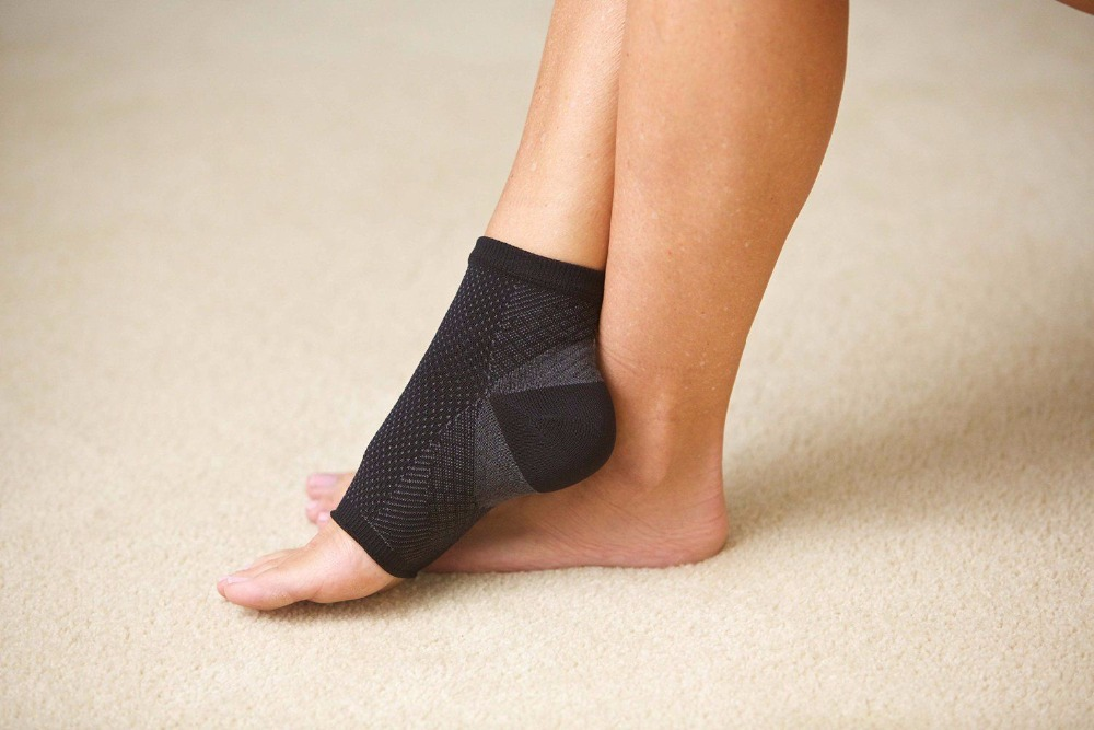 2018 Foot Compression Sleeve Anti Fatigue Angel Circulation Ankle Swelling Relief Wholesale