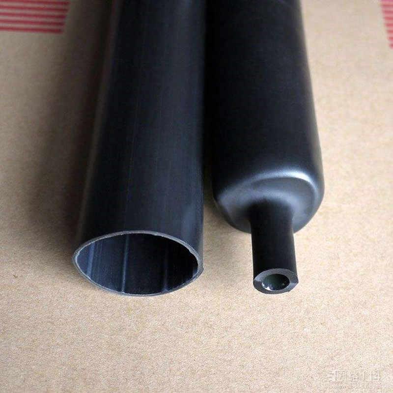 5 เมตร/ล็อต 3.2mm ความร้อนหดหลอดกาวกาว 3:1 หดตัว Dual Wall หดท่อห่อลวดสาย 7 สี