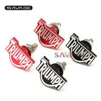 For Triumph Daytona Street Triple 675 Tiger 800 1050 Red Motorcycle Rear Fender Eliminator License Plate