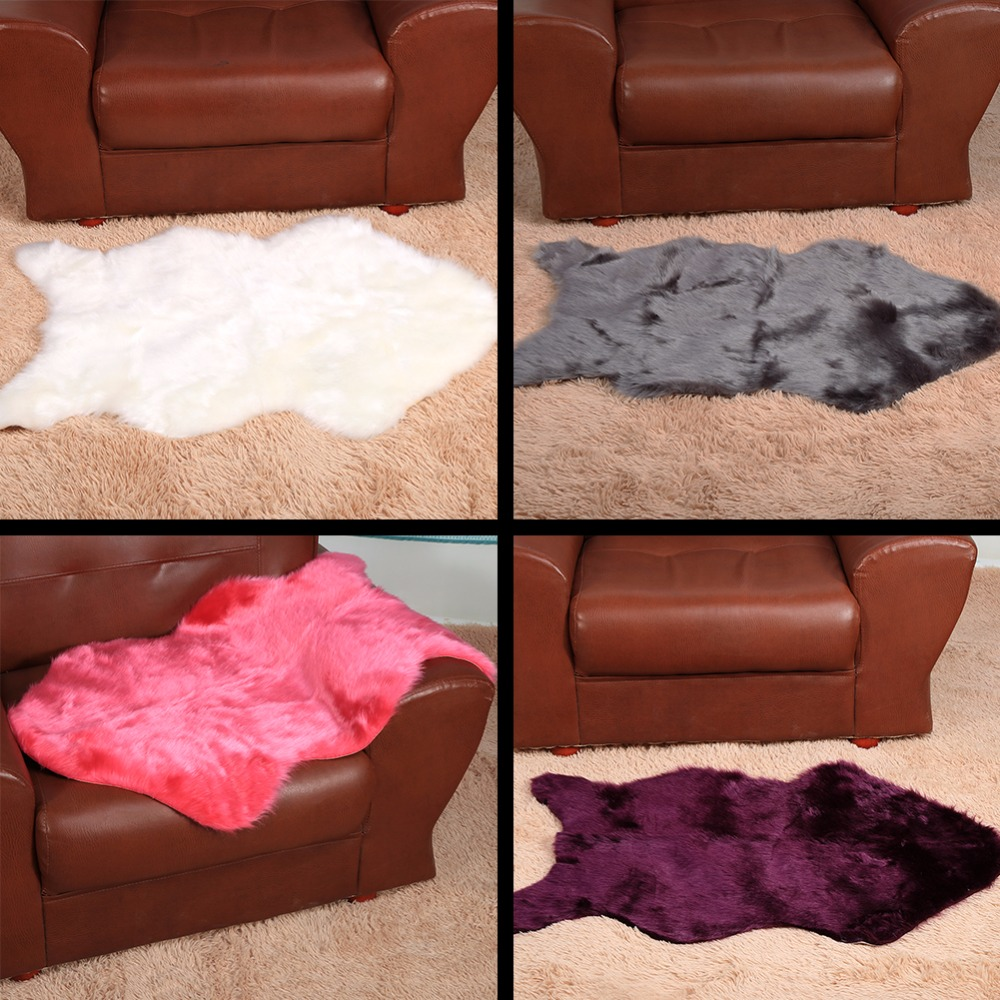 Modern Fish Plush Carpet For Living Room/Bedroom/Doormat,Colorful  Artificial Wool Plush Carpet Geometric Rug Home Supplies