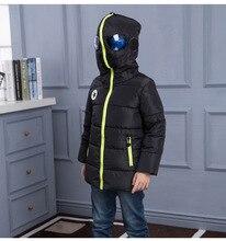 2016 de la moda de ropa para niños de invierno abrigos abrigos niños abajo parkas con capucha down jacket para niños nueva llegada 110-150