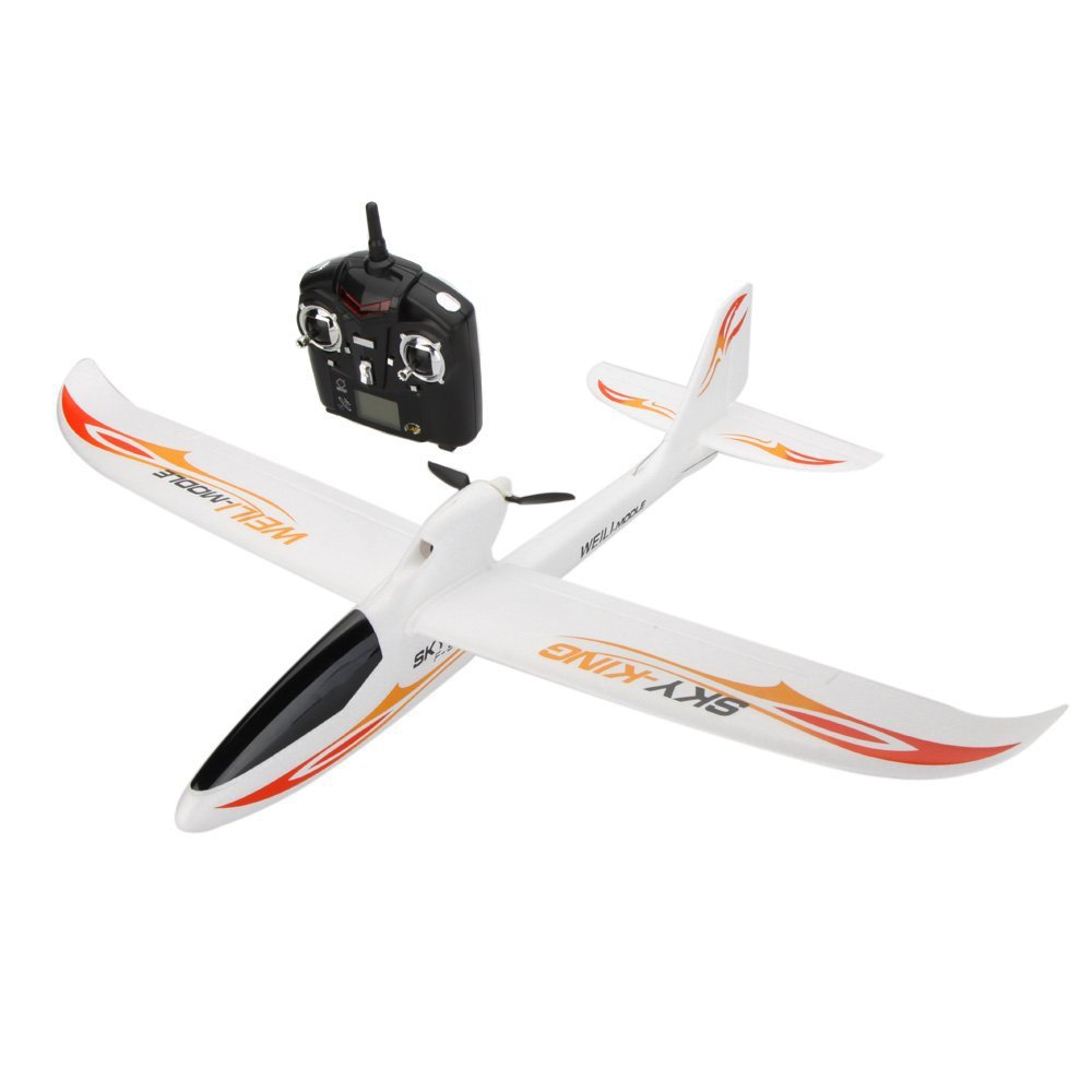 WLtoys F959 3CH 2.4GHz Radio Control RC Fixed-wing Aircraft Airplane Toy RTF 9107 epp foam fixed wing 4 ch radio control r c aircraft orange black