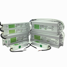 Waterproof IP67 LED Driver Ac dc 12V/24V 10W 15W 20W 25W 30W 36W 45W 50W 60W 80W 100W 120W 150W Power Supply for strip Light