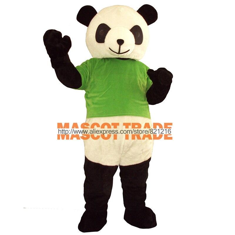 Новая версия с милой пандой; маскарадный костюм для взрослых для Хэллоуина вечерние события