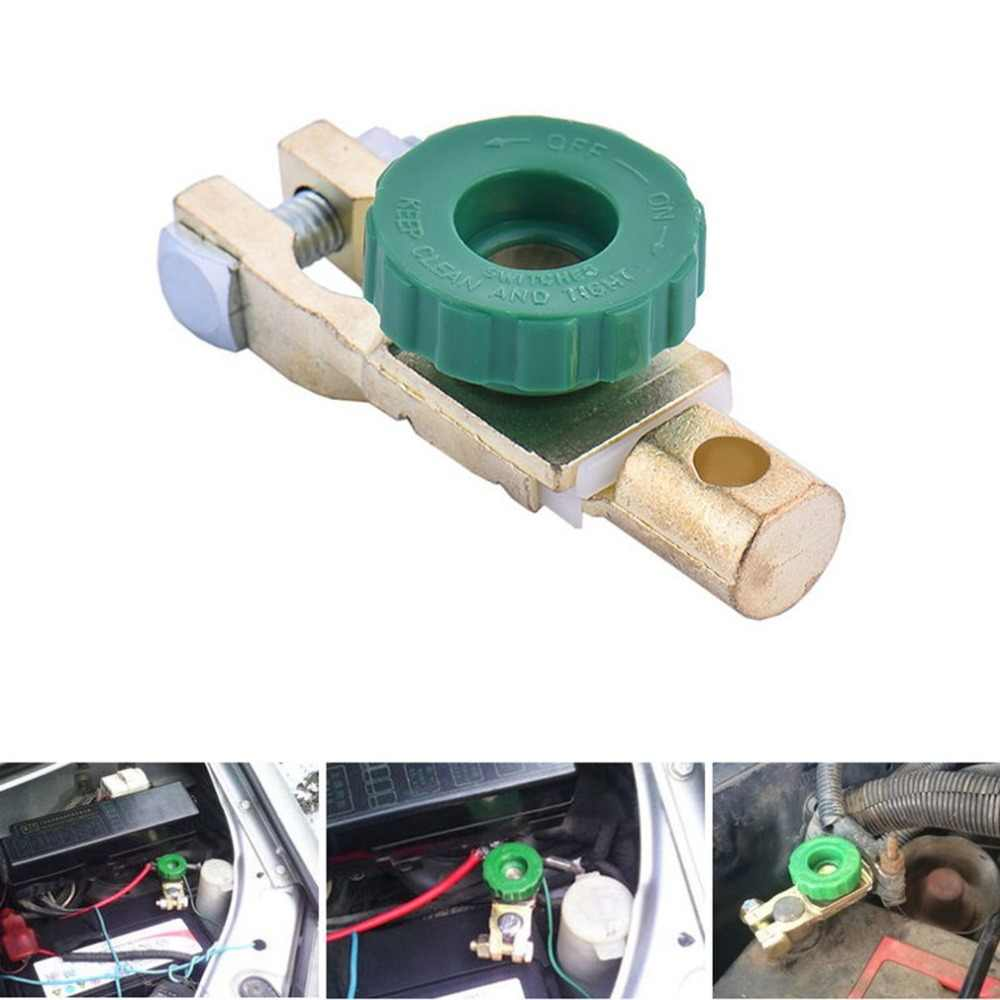 new Copper Battery Terminal Link Switch Quick Cut-off Disconnect Isolator Switch Auto Car Accessories Drop Shipping Hot