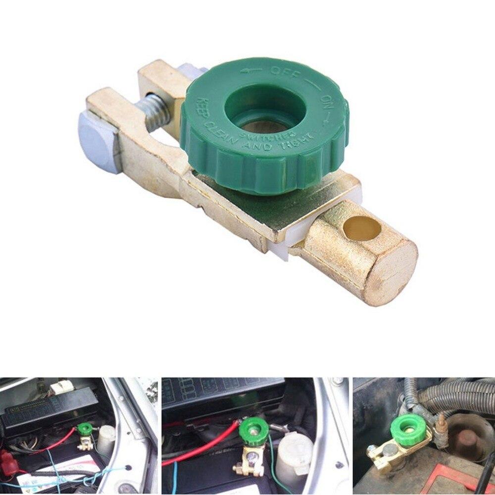 Nouveau commutateur de liaison de borne de batterie en cuivre interrupteur de déconnexion rapide interrupteur d'isolateur accessoires de voiture automatique livraison directe à chaud