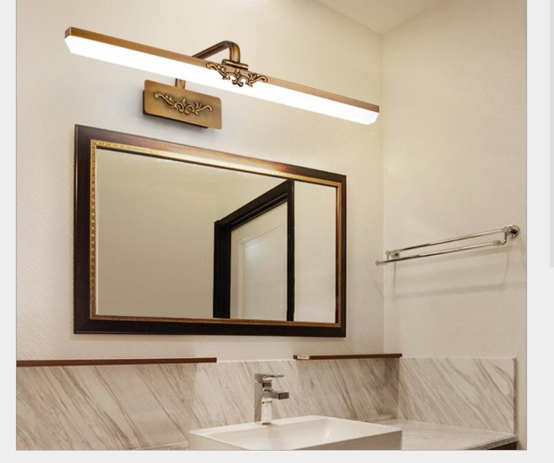 Lâmpada Espelho Do Banheiro À Prova D'