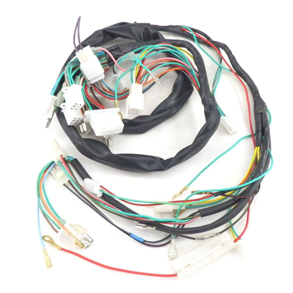 SCOOTER COMPLETE WIRE HARNESS for Znen 150T-E 150cc Vintage BMS Heritage  Scooter