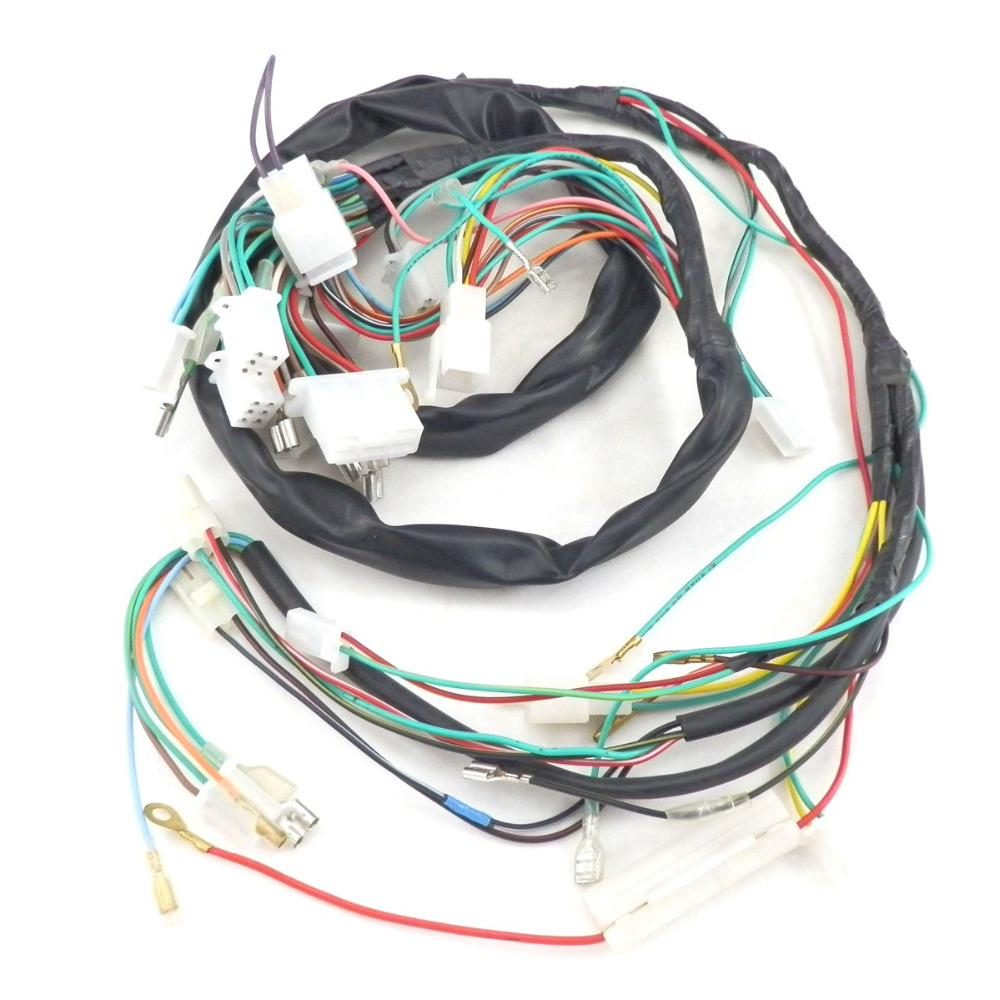 SCOOTER COMPLETE WIRE HARNESS for Znen 150T E 150cc Vintage BMS ...