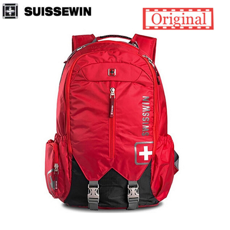 Swiss 17 Inch Computer Laptop Bagpack Travel Men Business Backpacks Teenagers Bag School Students Backpacks Travel  Sac A Dos
