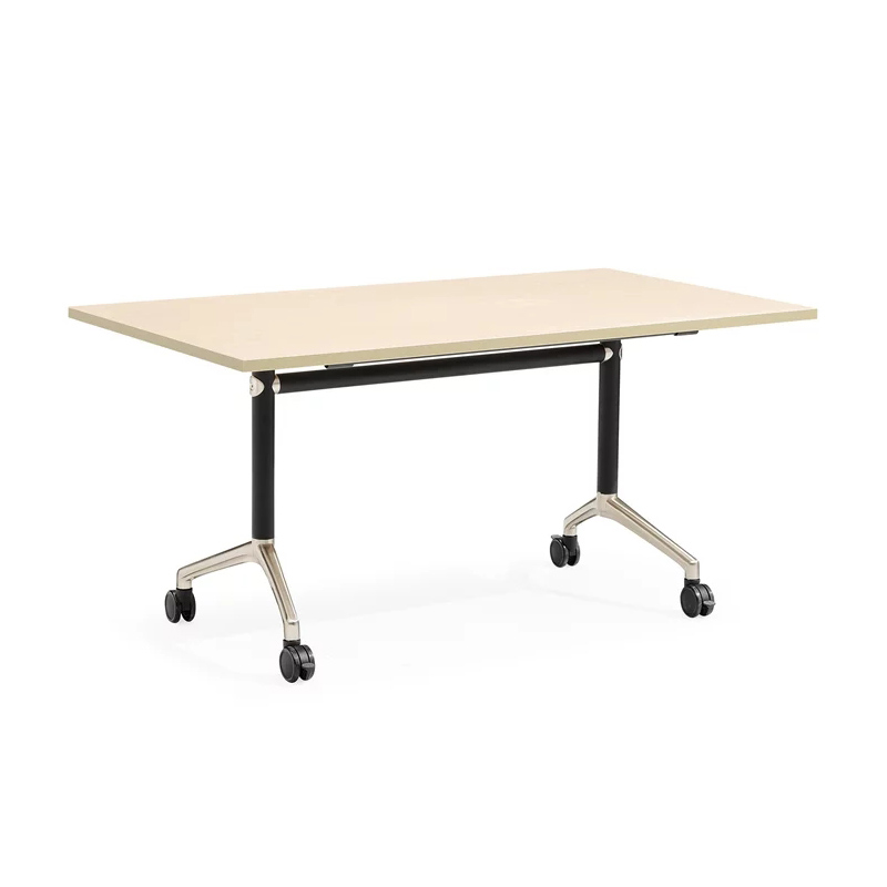 0312YC80-15 Movable meeting folding metel frame School office training tables negotiating office conference desk frame