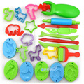 23 Pieces Color Play Dough Model Tool Toys Creative 3D Plasticine Tools Playdough Set,model building kits toy