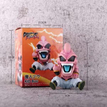 Anime action toys figrue Dragon Ball Majin Buu 12cm cartoon Nendoroid figurine collection toy gift(China)