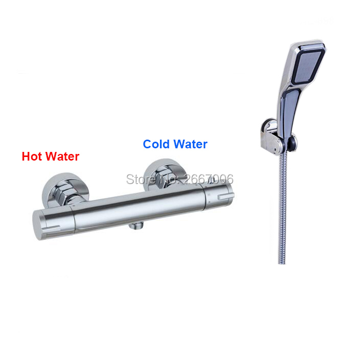 Free shipping Temperature Control shower faucet set Bathroom set Thermostatic Faucets Set wall mounted Toilet shower set ZR993Free shipping Temperature Control shower faucet set Bathroom set Thermostatic Faucets Set wall mounted Toilet shower set ZR993