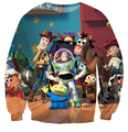 Cartoon toy story  hoodie 3d print The Walking Toys sweatshirts Men/Women  pullover Hoodies Harajuku tops clothing
