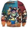 De dibujos animados toy story hoodie impresión 3d The Walking juguetes sudaderas hombres / mujeres pullover Hoodies Harajuku tops ropa