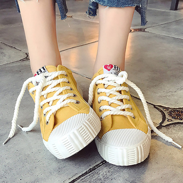 Plus Size 35-44 Vulcanized Shoes Women White Sneakers Couple Canvas Sneakers Woman Casual Shoes 2019 Fashion sports Shoes