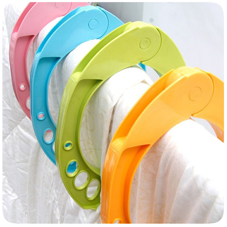 Heavy Duty Clothes Pegs Plastic Hangers New Fashion Racks Clothespins Laundry Clothes Hanging Pegs Clips -15