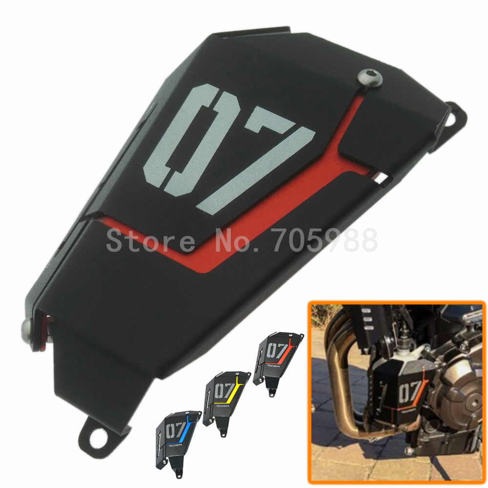 цены Hot Sale Motorbike Radiator Side Grille Guard Cover Protector For Yamaha MT07 MT-07 FZ07 2013 2014 2015