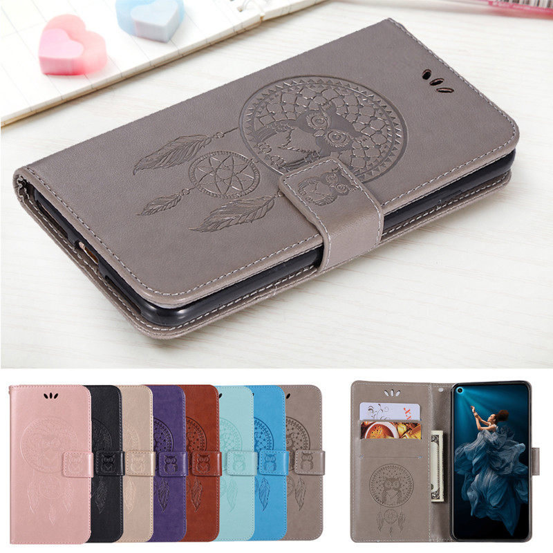 For Huawei Honor 20 Case Leather Wallet + Silicone Soft Cover Honor 20 Phone Case For Huawei Honor 20 Pro Case Flip Cover