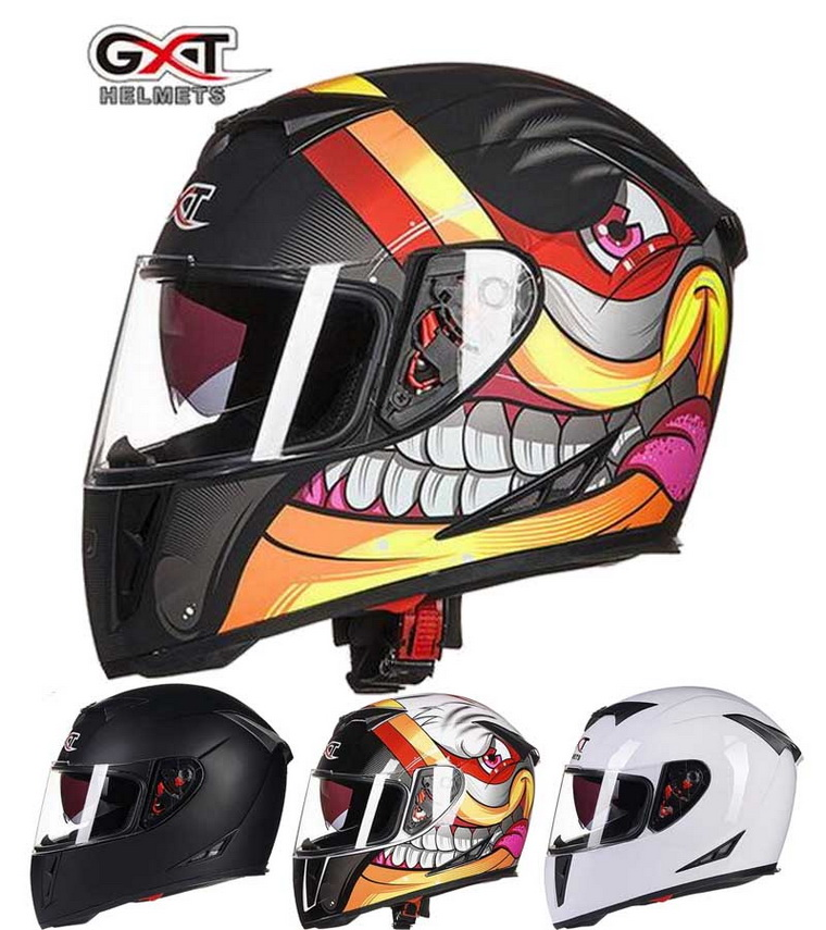 2016 Winter GXT G358 double lens full face Motocross motorcycle helmet ABS moto motorbike helmet knight racing safety helmets lexin 2pcs max2 motorcycle bluetooth helmet intercommunicador wireless bt moto waterproof interphone intercom headsets