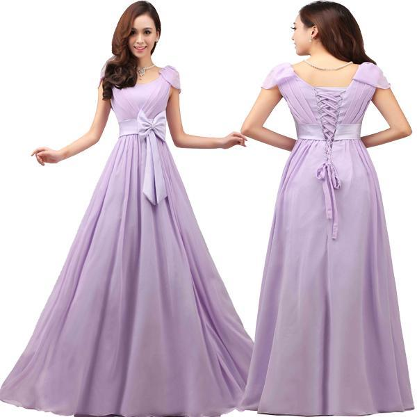 Plus size lace up prom dress