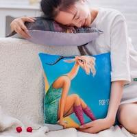 2016 New 15 Styles Zootopia Figures Toys Hold Pillow Cartoon Animal Judy Rabbit Nick Fox Lion