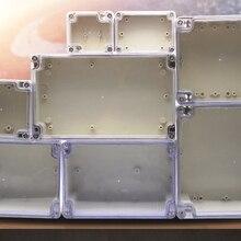 Электронный распределительный ящик пластиковый корпус коробка проект инструмент Чехол Водонепроницаемый Электрический проект коробка с прозрачной крышкой
