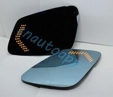 LED Avertissement de Direction Rétroviseur Bleu Miroir Pour Toyota Prado/Land Cruiser 2010-2014