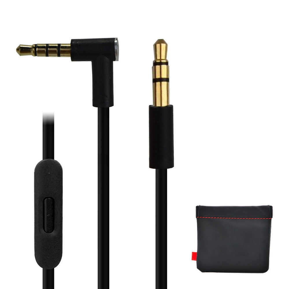 LBSC Замена аудио кабель Шнур провода с микрофоном и Управление для Beats by Dr Dre Solo /Студия/Pro/Detox