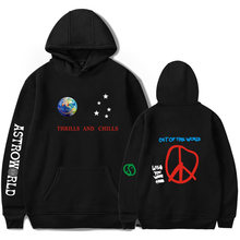 2018 ASTROWORLD Print Hooded Hoodies Men/Women Fashion Harajuku Hip Hop Hoodies Sweatshirt Top Clothes Plus Size(China)