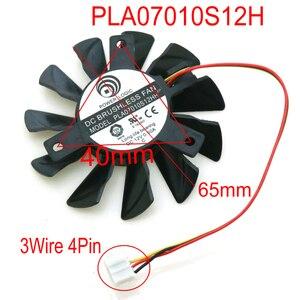 Вентилятор VGA для MSI Graphics Card, вентилятор охлаждения, 4 pin, 3 провода, 12 В, 0.50A, 65 мм, 40*40*40 мм, бесплатная доставка