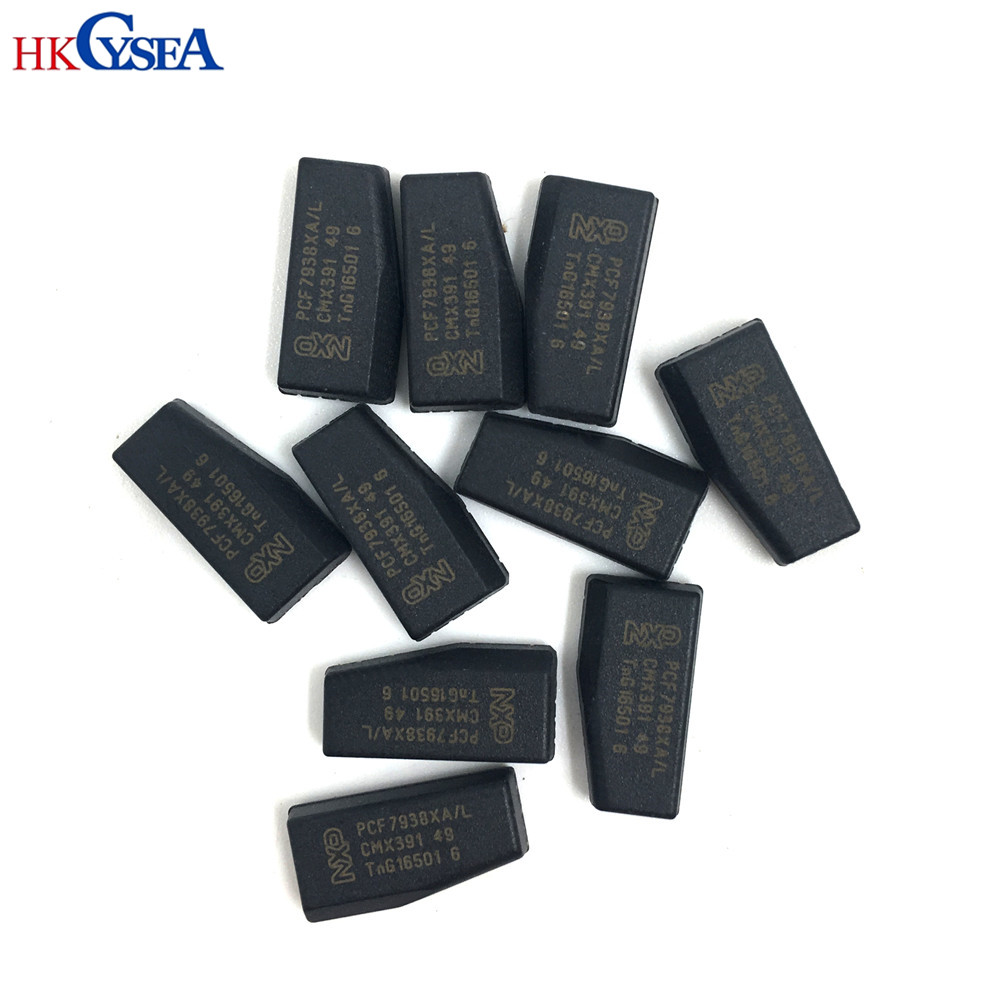 HKCYSEA 10pcs lot High Quality ID47 Ceramic Transponder A Chip PCF7938XA For 2014 Honda Hyundai