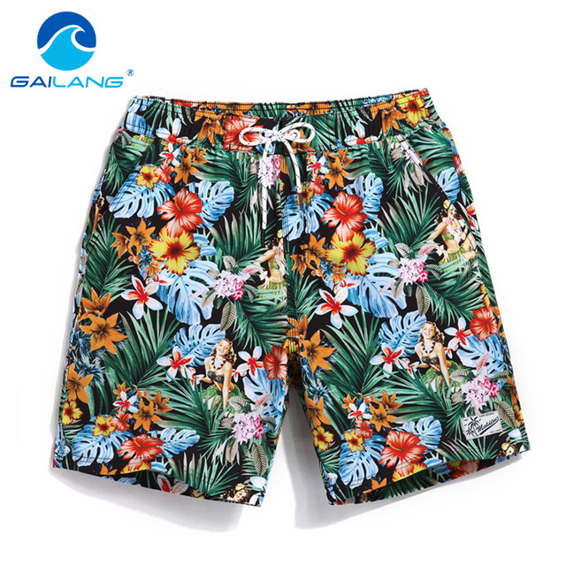 GAILANG Brand Man Boxers Trunks Swimwear Swimsuits Active Mens Jogger Bermduas Workout Cargos Men Beach Board Shorts Quick Dry