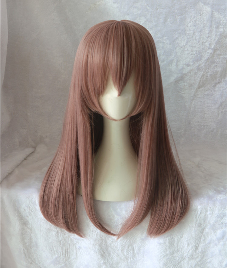 Japan Movie A Silent Voice women Nishimiya Shouko Cosplay Wig Shape of Voice Koe no Katachi Straight dark purple Hair costumes