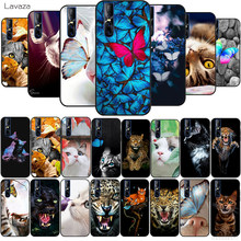 Lavaza Butterfly Stand On The Cat Nose TPU Case for vivo Y53 Y55s Y67 Y75 Y81s Y85 Y89 Y91 Y95 Y93 V5s V7 V9 V15 V11Pro(China)