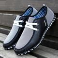 Мода Мужская Обувь Узелок Марка Мужчины Повседневная Обувь Мужчины Мужчины Тренеры Черный
