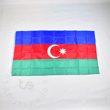 Azerbaijan  flag Banner Free shipping 90*150cm Hanging National Home Decoration