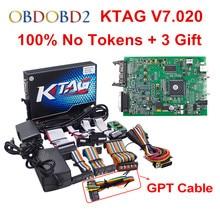 100% No Token 7.020 KTAG K tag V7.020 V2.23 Online Master KTAG V7.020 K-TAG ECU Chip Tuning For Car Truck ECM Winols Free Ship