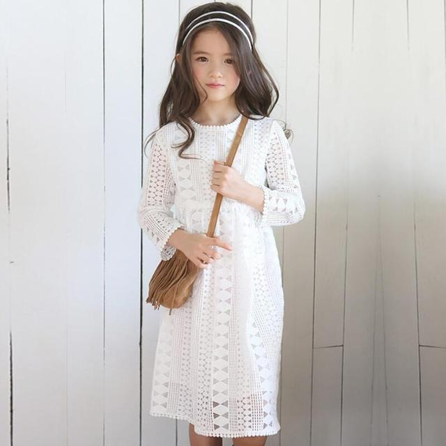 ed339c2e 2018 de encaje vestido de niña de niño, niños, ropa para niños, vestidos