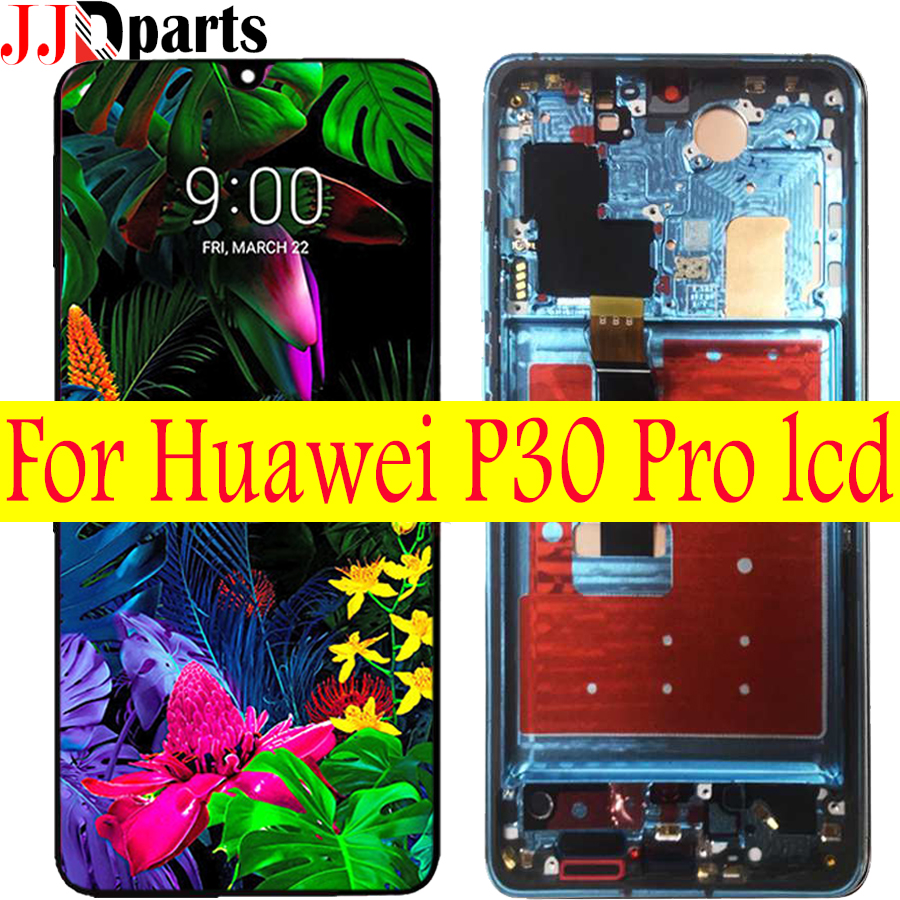 Original For Huawei P30 Pro LCD Touch Screen Digitizer Assembly Replacement Parts 6 47 Huawei P30