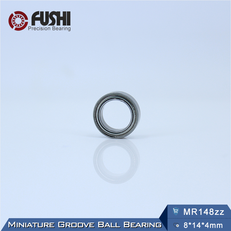 MR148zz Bearing 8*14*4 mm ( 10 PCS ) ABEC-5 Miniature MR148 Z ZZ High Precision MR148Z Ball Bearings полотенца devilla полотенце senses цвет фиалковый 55х100 см