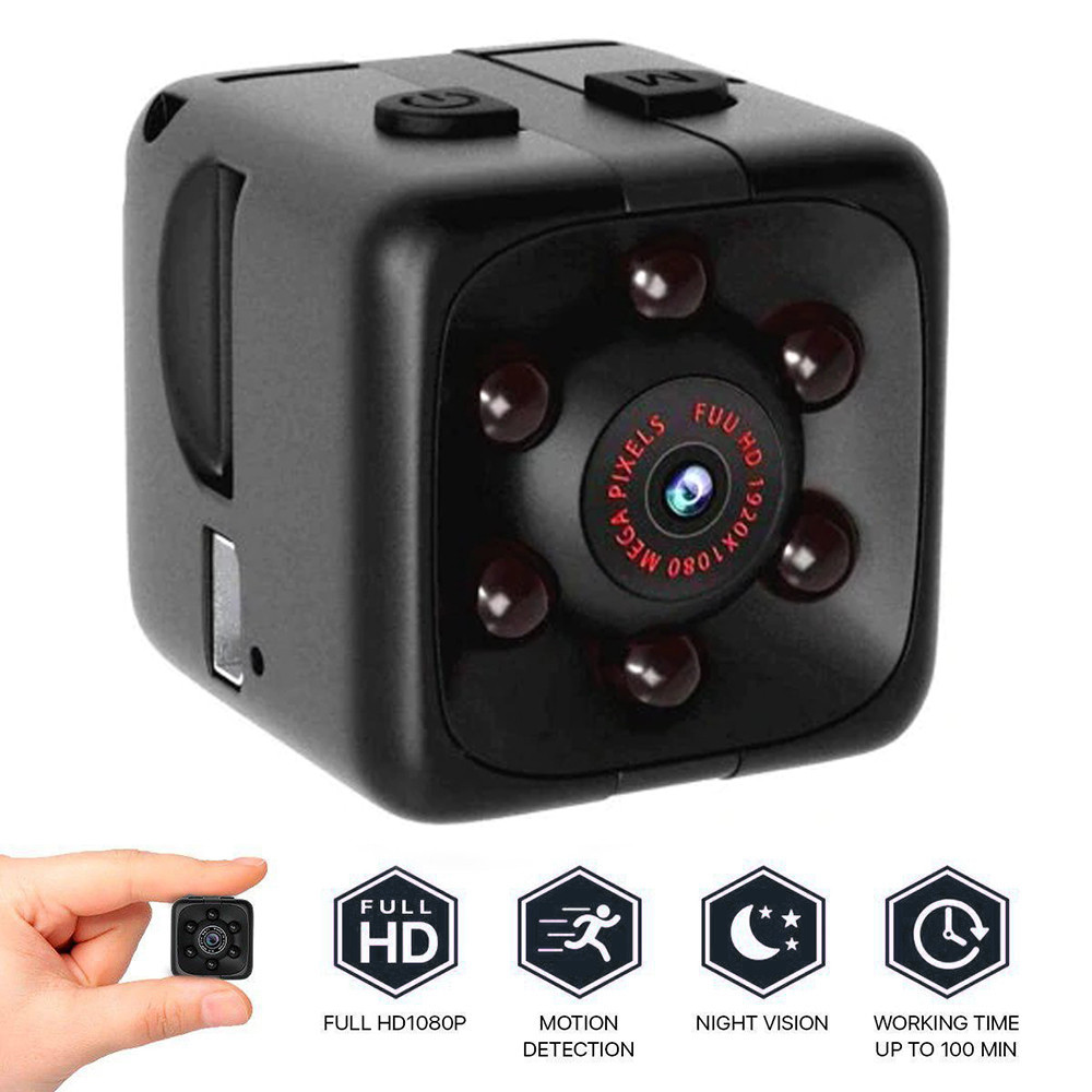 2019 Hot Mini Full HD 1080P DV  Action  Security Motion Cam Night Vision Camera DropShippping(China)