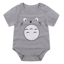 Newborn Jumpsuit Baby Boy Clothes Totoro Cotton Clothing