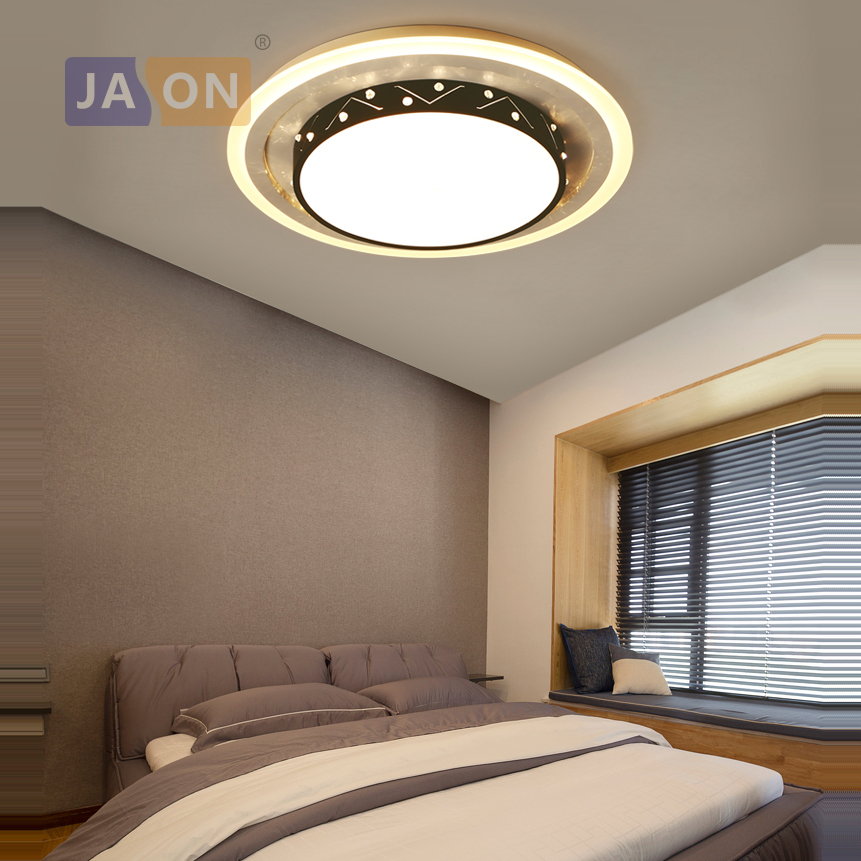 цены LED Modern Iron Acryl Round Black 8cm Thin LED Lamp.LED Light.Ceiling Lights.LED Ceiling Light. Ceiling Lamp For Foyer