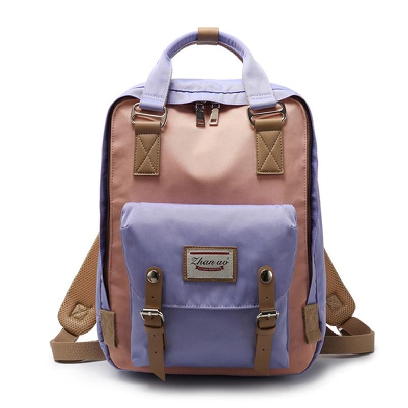 Классический дизайн 2019 студенческий рюкзак холст ноутбук водостойкий kanken рюкзак женская школьная сумка модная повседневная Mochilas Рюкзак купить на AliExpress
