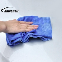 32cm Ultra Absorbent Soft Microfiber Car Cleaning Cloths Small Chamois Imitation Deerskin Towel Dry Hair Towel