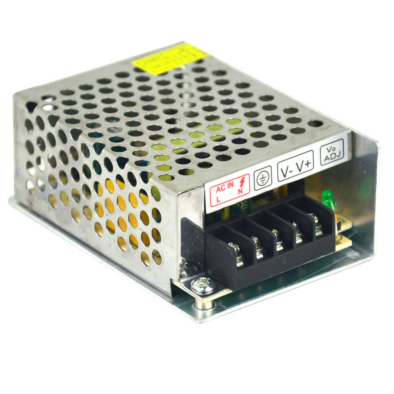 AC 220V variable DC 12V switching power supply transformer, 2A adapter motor LED controller