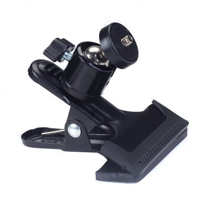 1pc Multi-function Clip Clamp Holder Mount With Standard Ball Head 1/4 Screw For Clamp Photography Accessories